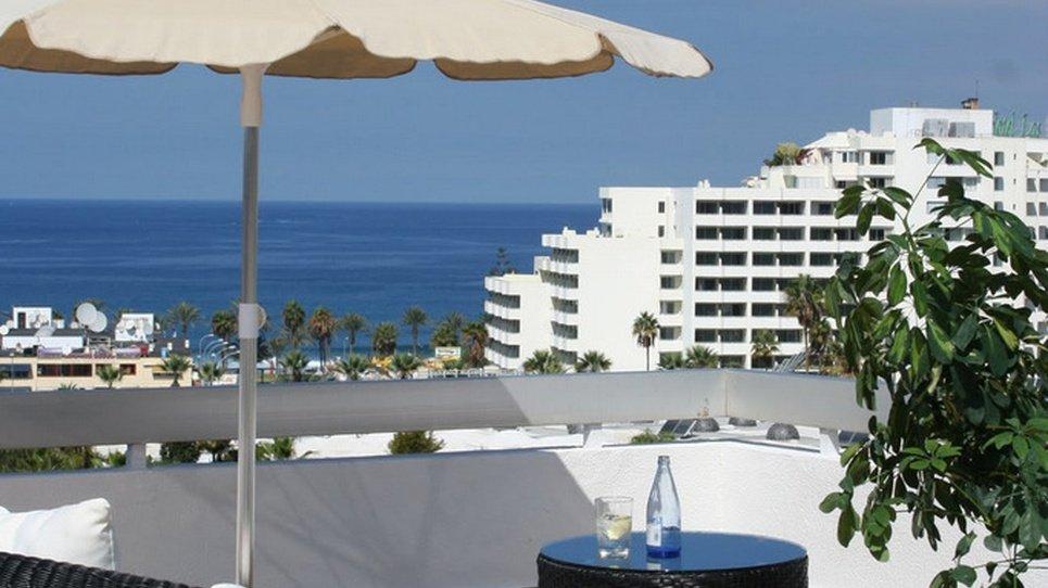 SOLARIUM EN AZOTEA CON VISTAS Hotel Coral Suites & Spa
